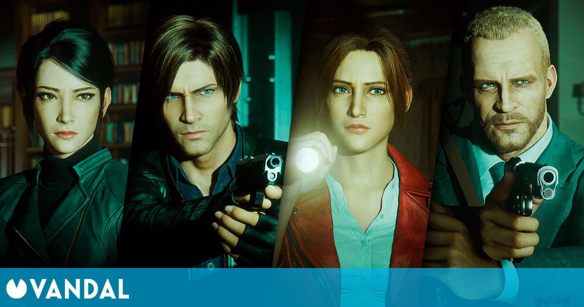 Resident Evil Infinite Darkness, the new animated series, now available on Netflix