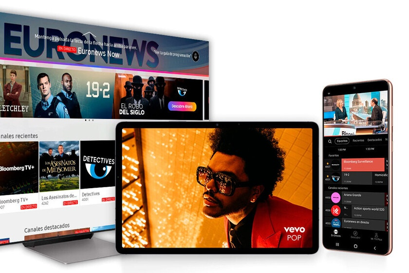 Free TV for Galaxy mobiles: Samsung TV Plus now available in Spain