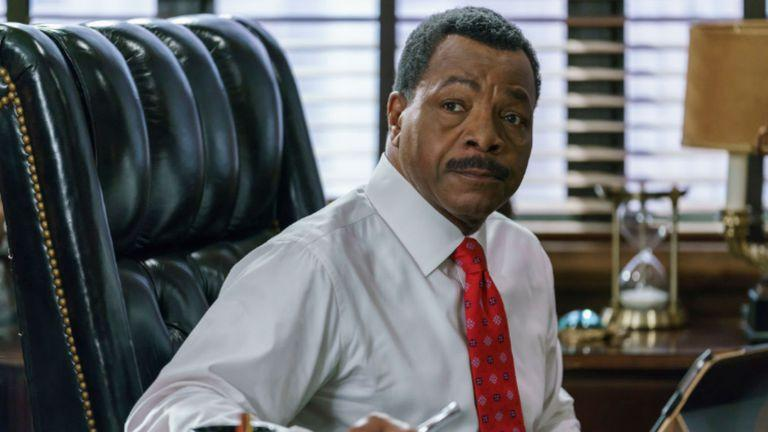 Carl Weathers in Dick Wolf's new series Chicago Justice