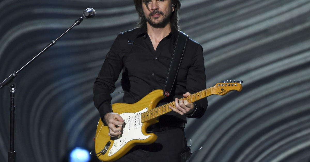 Juanes takes his 'Origen' on tour with 20 concerts in the United States