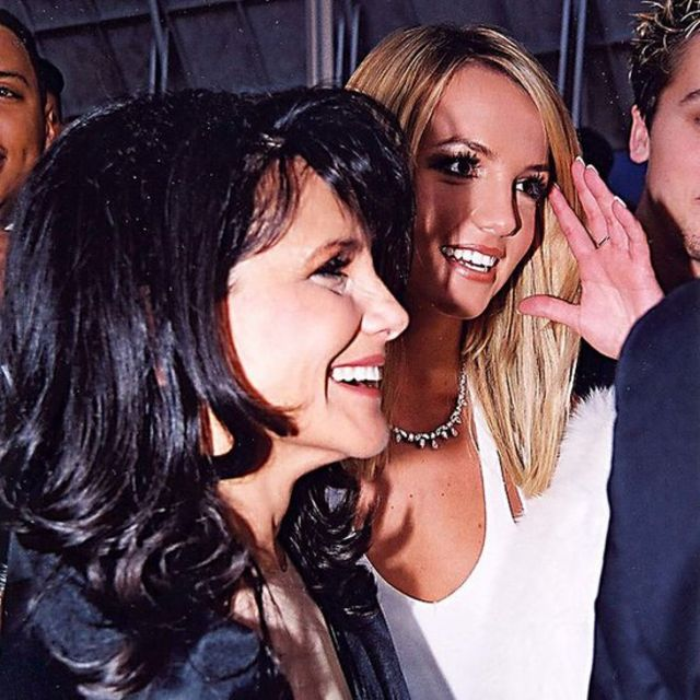 Lynne Spears and Britney Spears at the 2000 GRAMMY Awards at the Staples Center in Los Angeles.