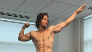 Mark Wahlberg has the best exercise for a flat, marked abs