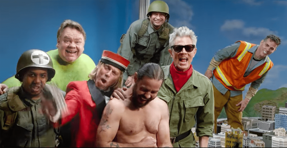 Now with gray hair and everything: The official trailer for 'Jackass Forever' is finally out
