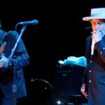 Singer with digital concert: Bob Dylan performs live