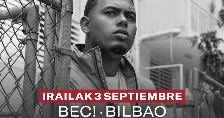 Myke Towers European tour will stop in Bilbao