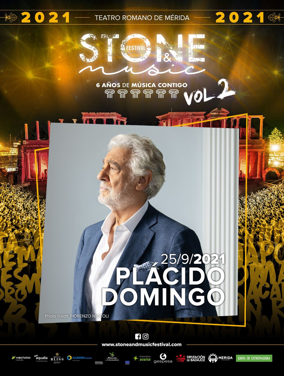 The Extremadura Orchestra will not perform with Plácido Domingo at a music festival in Mérida