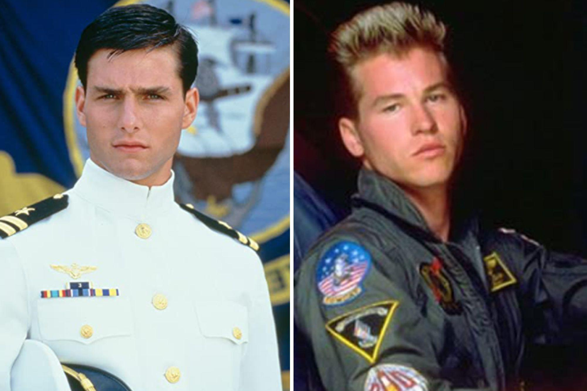 Top Gun: from Tom Cruise's 1986 moment of glory to Val Kilmer's current twilight