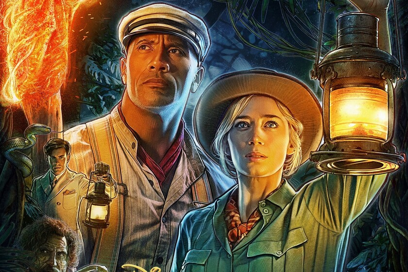 'Jungle Cruise': a great adventure closer to 'The mummy' than to 'Pirates of the Caribbean' with charismatic Dwayne Johnson and Emily Blunt