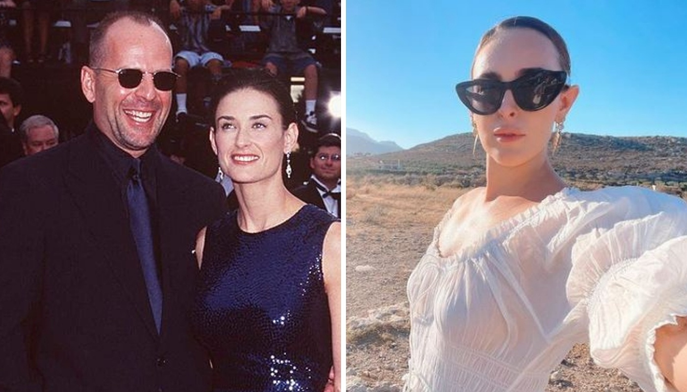 Demi Moore's eldest daughter is her spitting image: beauty is a family heirloom