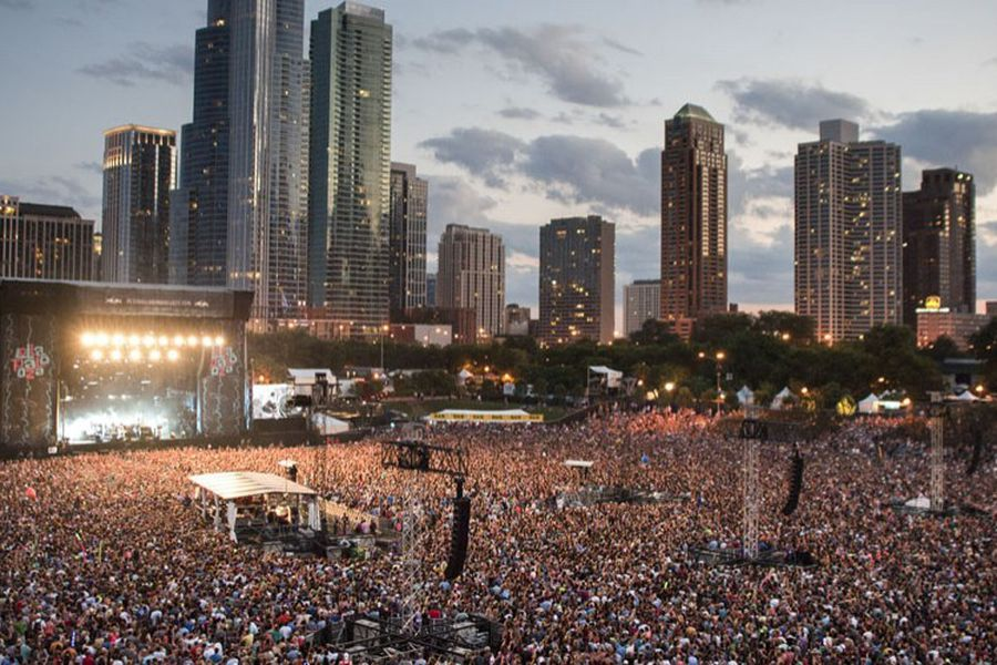 Lollapalooza returns: the biggest festival of the pandemic begins amid rising cases and allowing entry of unvaccinated - La Tercera