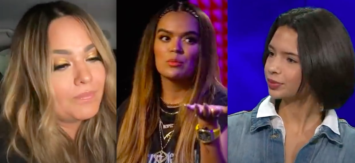 Is rude going to the jugular? Karol G sang in mariachi with 'bad words' and Ángela Aguilar is offended, but Mayeli says 'delicate' (VIDEO)