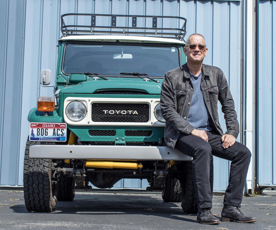 1627675135 189 Tom Hanks will auction his Land Cruiser and of course