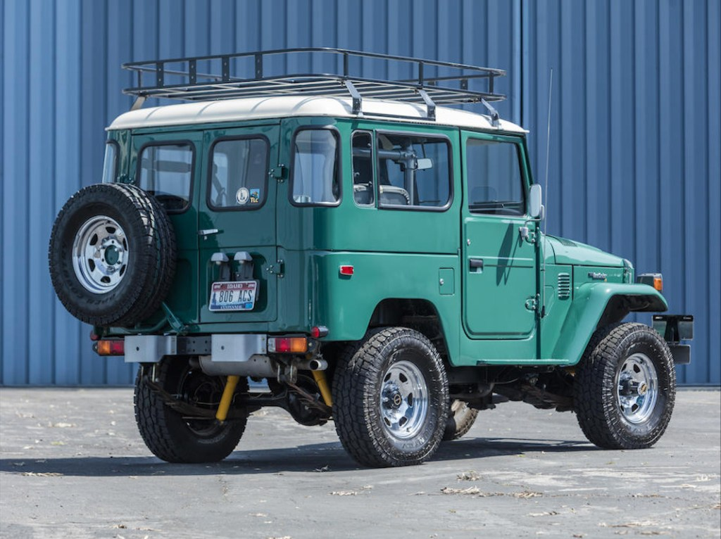 1627675135 522 Tom Hanks will auction his Land Cruiser and of course