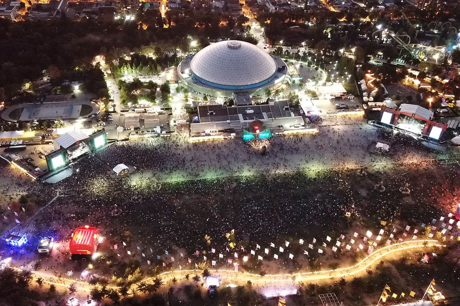Concerts in Chile: 84% of the public willing to return to a pandemic show and 93% approve admission only for vaccinated - La Tercera