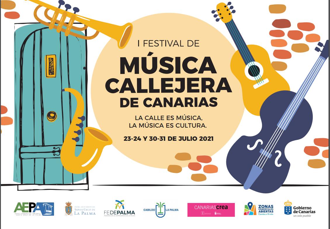 AEPA ZCA of Santa Cruz de La Palma organizes the I Festival of street music of the Canary Islands - El Apurón