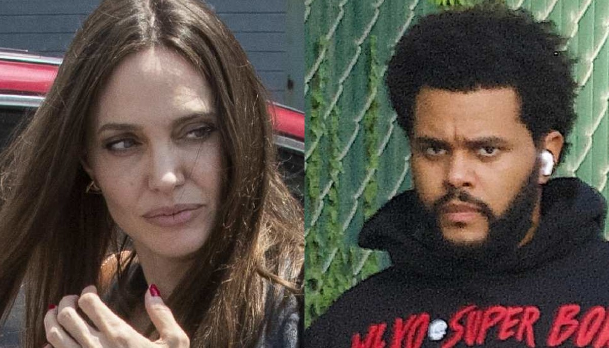 Angelina Jolie and the Weeknd caught together again at a concert