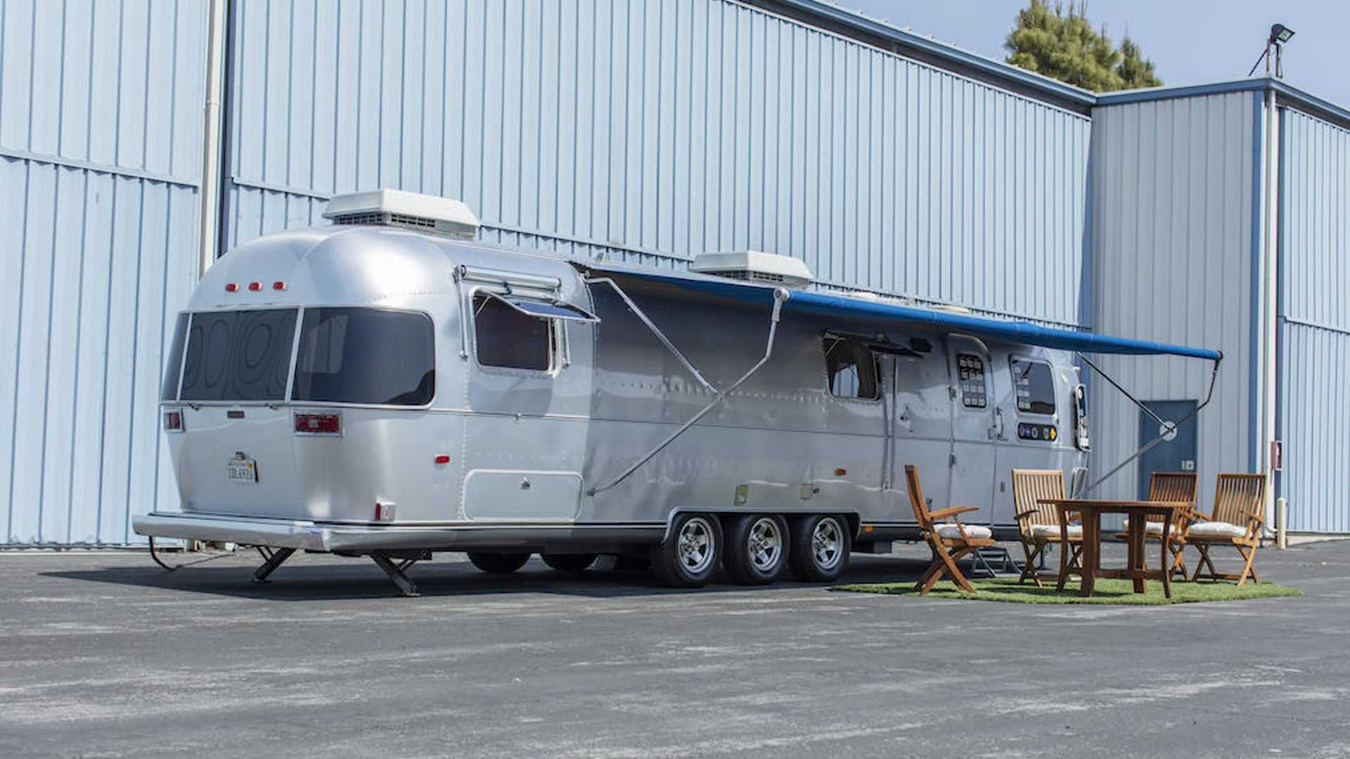 Few caravans are as iconic as Tom Hanks' Airstream
