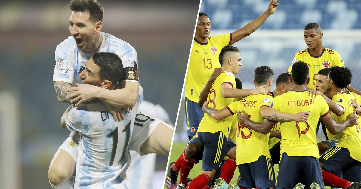 Argentina will face Colombia for a place in the final of the Copa América where Brazil is already waiting: time, TV and formations