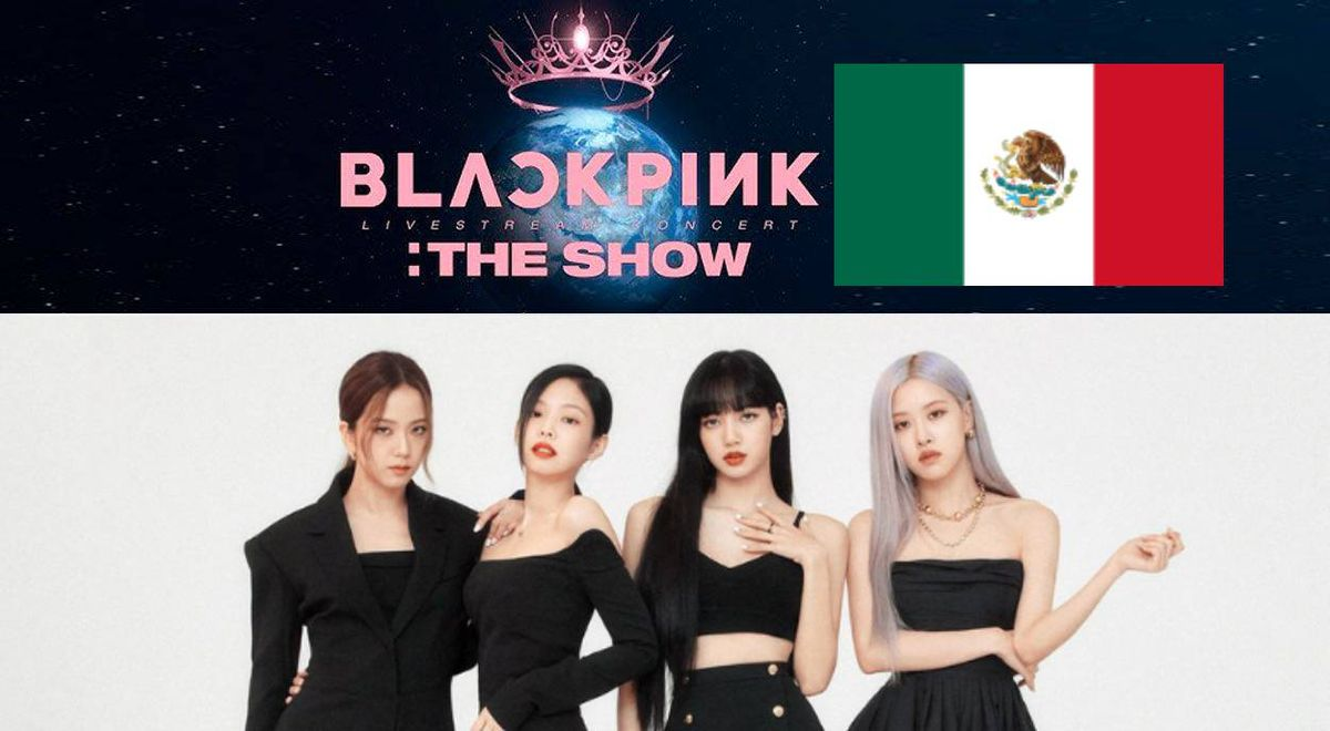 BLACKPINK The Show by MVS TV Mexico when and on
