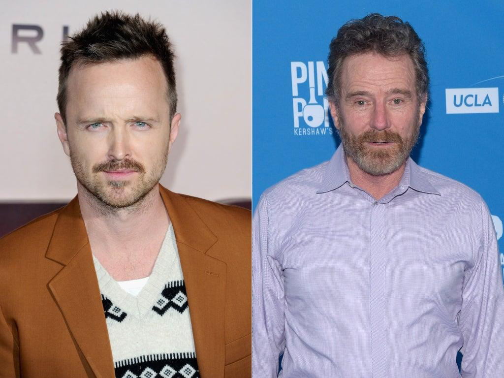 Breaking Bad stars Aaron Paul and Bryan Cranston send good wishes to Bob Odenkirk