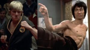 'Cobra Kai' star said he used a Bruce Lee movie to convince 'Karate Kid' director