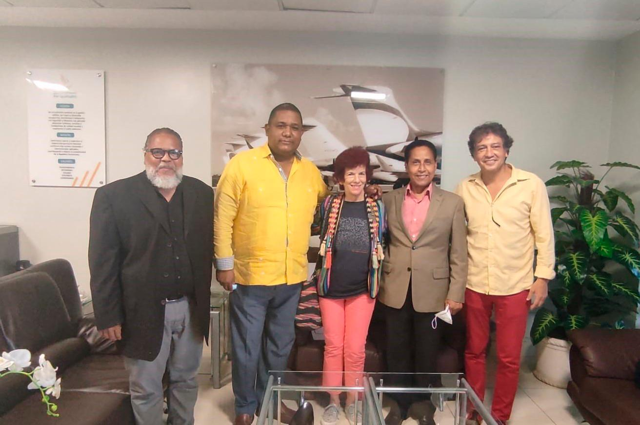 Daughter of Charles Chaplin comes to the DR to fulfill a promise to support the country through film and music