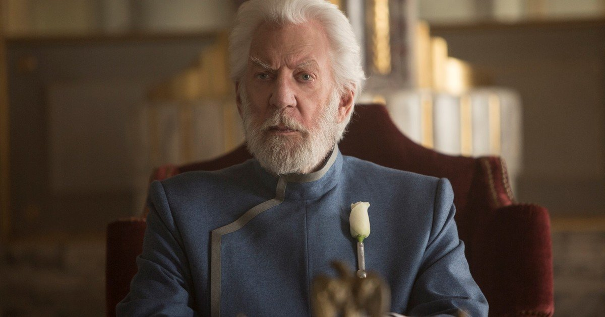 Donald Sutherland: he was Homer Simpson in a movie, also Christ and almost died filming with Clint Eastwood