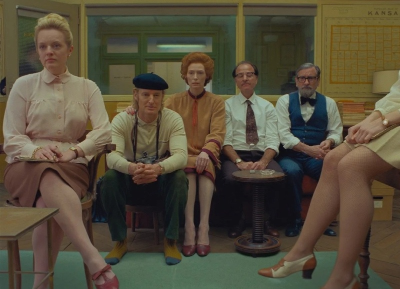 """Festivals: Review of """"The French Dispatch"""", by Wes Anderson, with Timothée Chalamet, Tilda Swinton, Frances McDormand and Bill Murray (Official Competition) - # Cannes2021"""