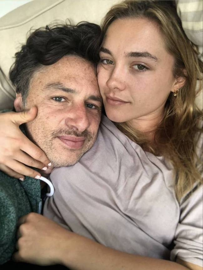 Florence Pugh addresses the bullying she suffered because of her relationship with Zach Braff