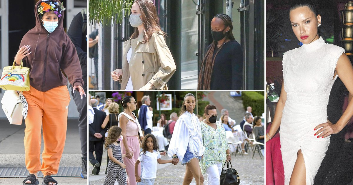 From Angelina Jolies shopping day with her daughter to Zoe