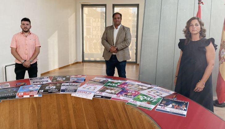 Guijuelo fairs and festivals program Concerts by Antonio Orozco India