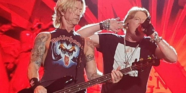 Guns N Roses concert in Guadalajara still without authorization from