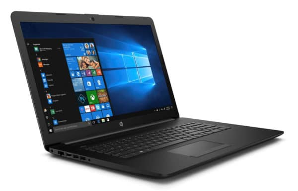 HP 17-by2025nf, inexpensive 17-inch laptop PC with DVD drive