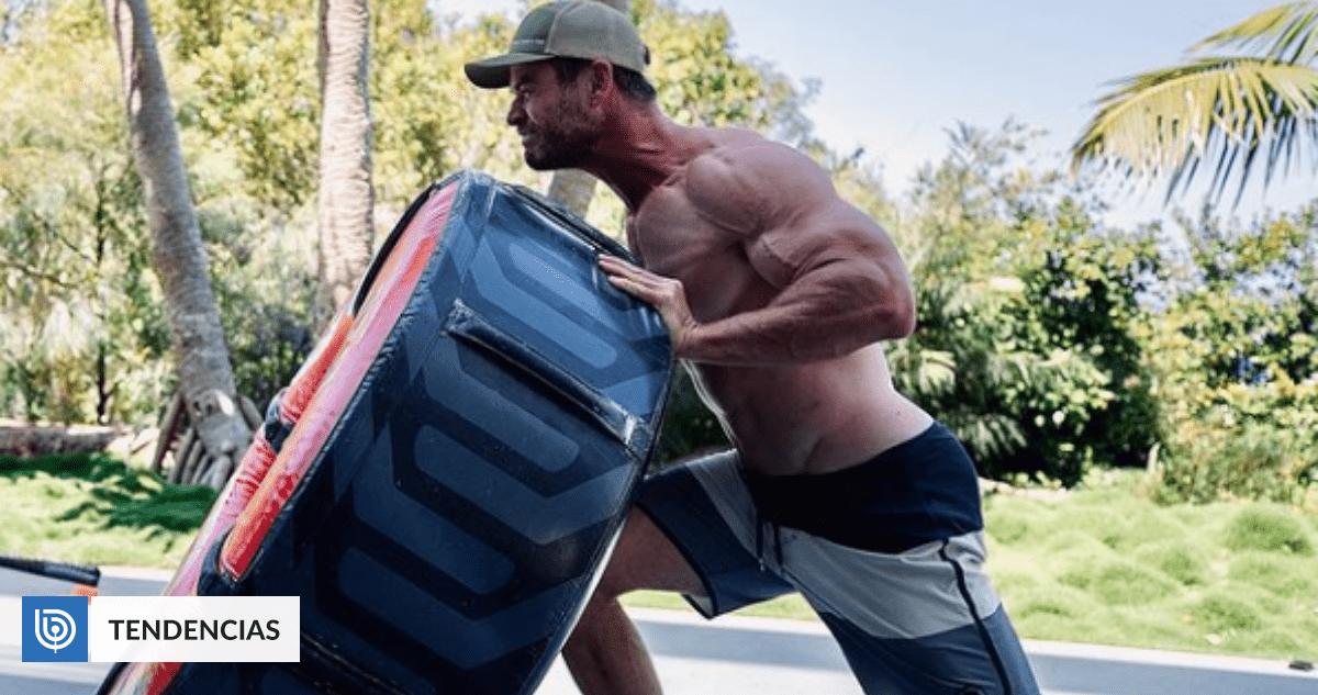 Heres Chris Hemsworths diet and exercise regimen for the new