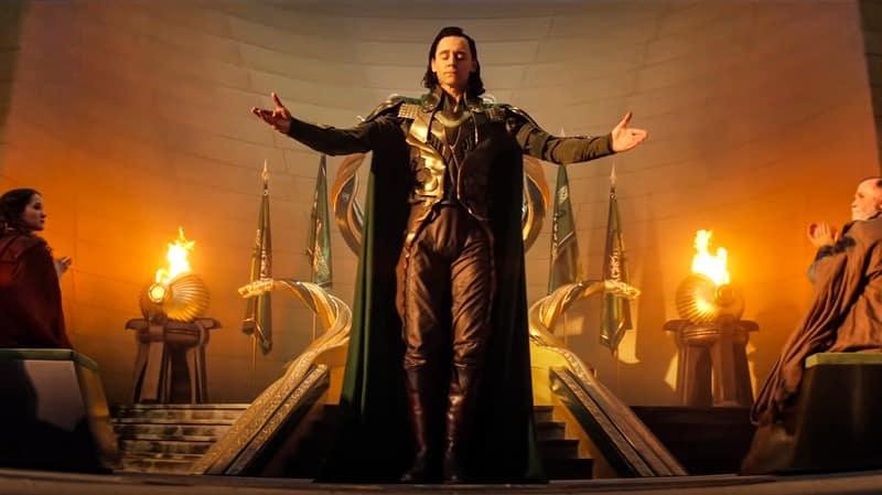 It was the deleted scene of Loki involving Chris Hemsworth