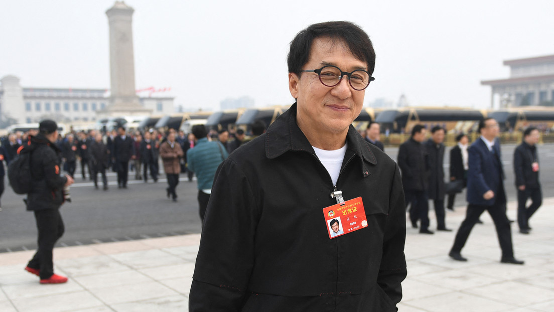 Jackie Chan I want to be a member of the