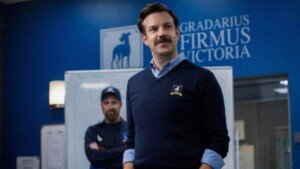 """Jason Sudeikis was nominated for an Emmy Awards for his acclaimed comedy """"Ted Lasso."""""""