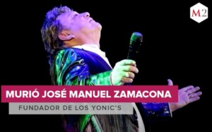 Jose Manuel Zamacona vocalist of the Yonics dies by covid