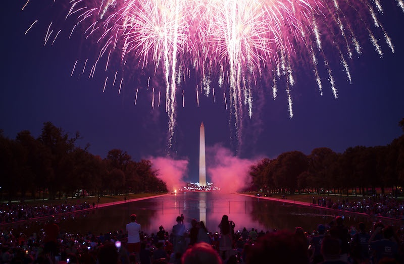 July 4 in Washington DC This year there will be