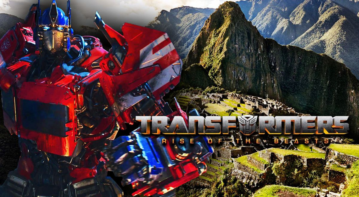 Leaked photos of 'Transformers: rise of the beasts', the film to be filmed in Peru