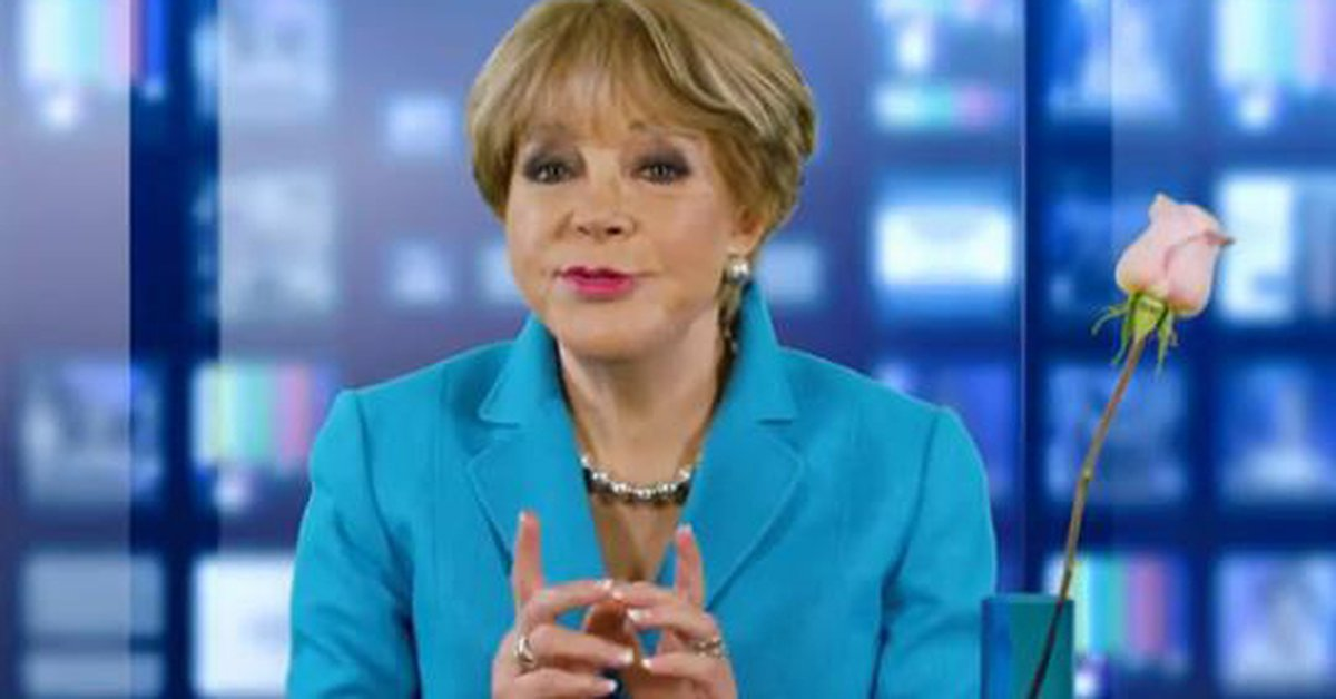 Lolita Ayala revealed where the idea of using a rose in her newscast came from