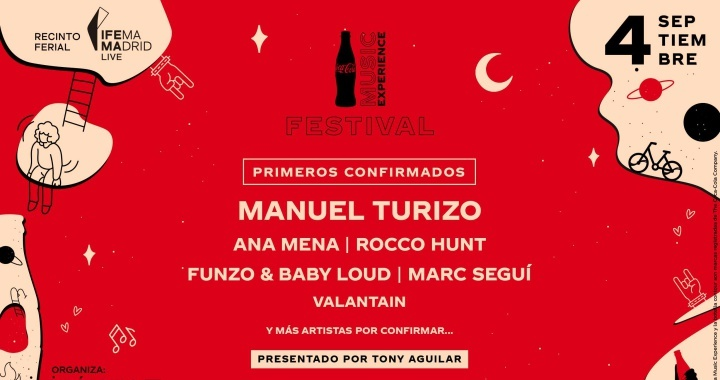 Manuel Turizo and Ana Mena among the first confirmed of