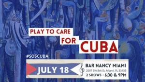 Musicians in Miami organize charity concert for Cuba