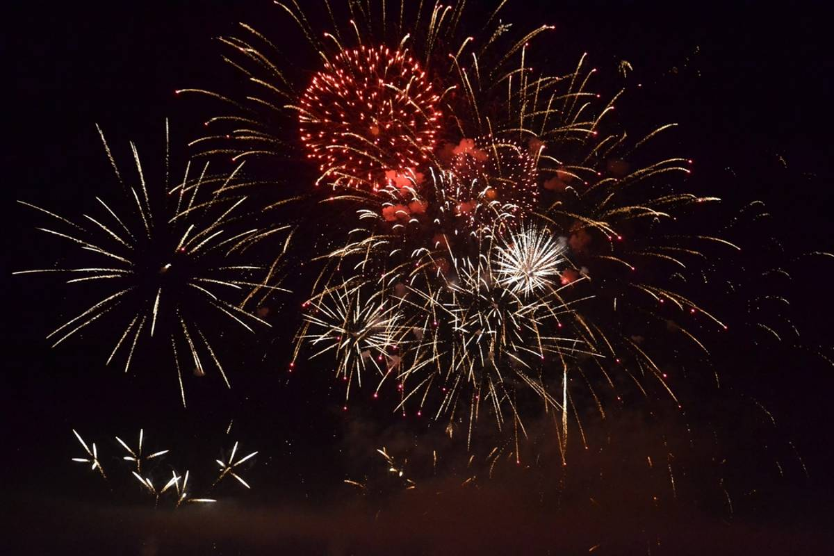 National Day Fireworks are back in the Cher after
