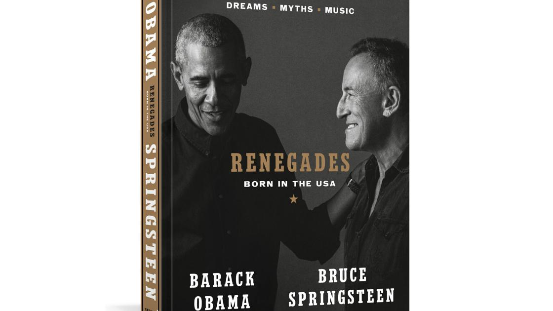 Obama and Springsteen publish their book Renegades in October