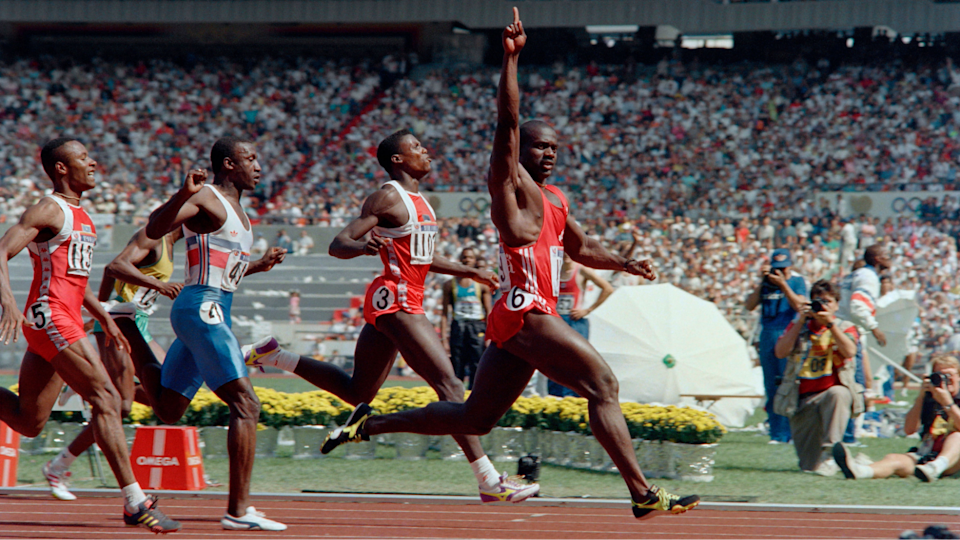 For a moment, Ben Johnson was Canada's national hero. Before positive steroid test results ruined his image, and & # xe9; he never recovered & # xf3 ;. (ROMEO GACAD / AFP)