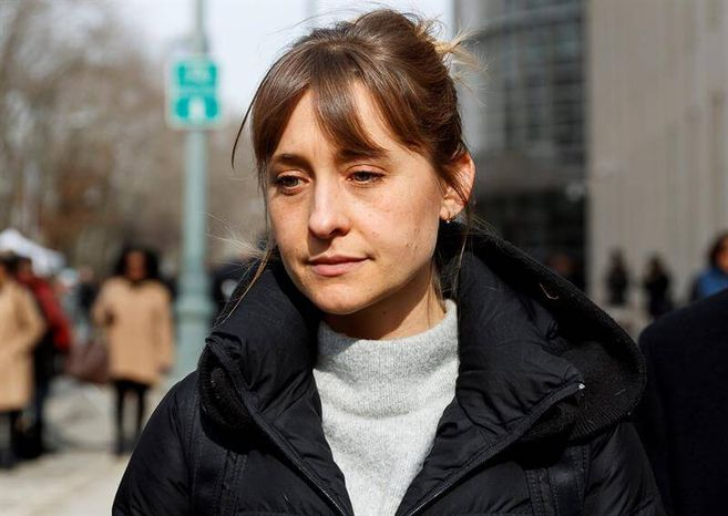 Smallville actress Allison Mack convicted of sex cult