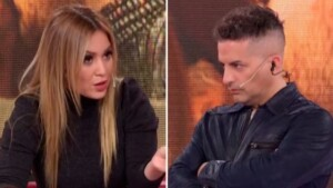 """Strong reproach from Karina La Princesita to Ángel de Brito on the air: """"I look you in the eyes and I include you in those who say 'if I can step on you, I'll step on you'"""""""