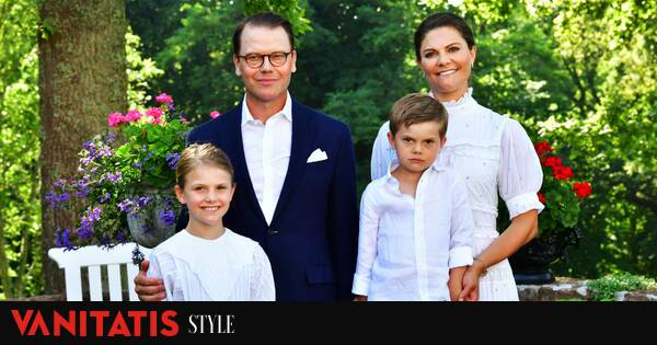 Swedish royal family goes to concert to celebrate Princess Victoria's birthday