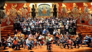 The Catalan Baroque Orchestra ends the season with Bach in Sant Felip Neri